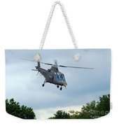 An Agusta A109 Helicopter Weekender Tote Bag
