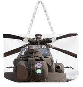 An Ah-64d Apache Helicopter Weekender Tote Bag