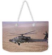 An Ah-64d Apache Longbow Fires A Hydra Weekender Tote Bag