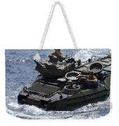 An Amphibious Assault Vehicle Weekender Tote Bag