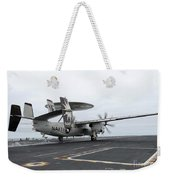 An E-2c Hawkeye Launches Off The Flight Weekender Tote Bag
