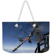An F-15 Eagle Pulls Into Position Weekender Tote Bag