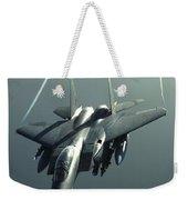 An F-15e Strike Eagle Flies Over Iraq Weekender Tote Bag