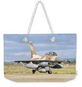 An F-16b Netz Of The Israeli Air Force Weekender Tote Bag