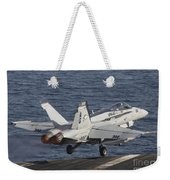 An Fa-18c Hornet Taking Weekender Tote Bag