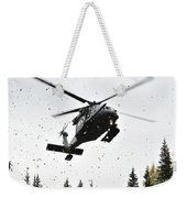 An Hh-60g Pave Hawk Helicopter Prepares Weekender Tote Bag