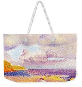 An Incoming Storm Weekender Tote Bag by Henri-Edmond Cross