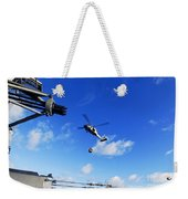 An Mh-60s Sea Hawk Helicopter Weekender Tote Bag