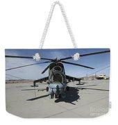 An Mi-24 Hind Helicopter Weekender Tote Bag
