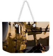 An Oh-58d Kiowa During Sunset Weekender Tote Bag