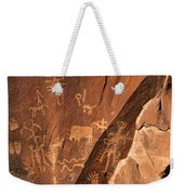Ancient Indian Petroglyphs Weekender Tote Bag