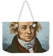 Andre Marie Amp�re, French Physicist Weekender Tote Bag