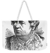 Ann Sophia Stephens Weekender Tote Bag