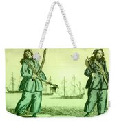 Anne Bonny And Mary Read, 18th Century Weekender Tote Bag by Photo Researchers