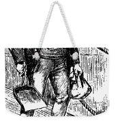 Anti-immigrant Cartoon Weekender Tote Bag