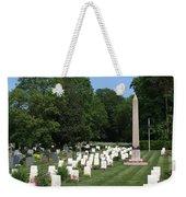 Anzac Cemetery In Harefield Churchyard Weekender Tote Bag