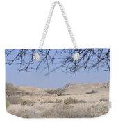 Aravah Desert Landscape  Weekender Tote Bag