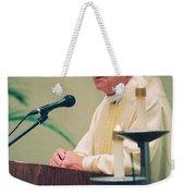 Archbishop Raymond Hunthausen Weekender Tote Bag