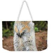 Arctic Ground Squirrel Weekender Tote Bag