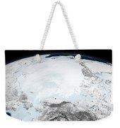 Arctic Sea Ice Weekender Tote Bag