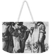 Aristotle, Ptolemy And Copernicus Weekender Tote Bag by Science Source