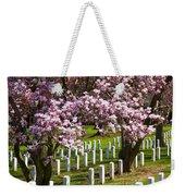 Arlington Cherry Trees Weekender Tote Bag