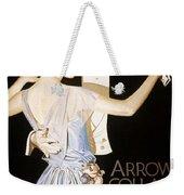 Arrow Shirt Collar Ad Weekender Tote Bag