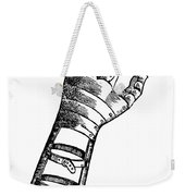 Artificial Hand Designed By Ambroise Weekender Tote Bag by Science Source