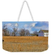 Artist In Field Weekender Tote Bag by William Jobes