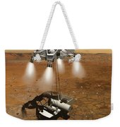 Artists Concept Of An Ascent Vehicle Weekender Tote Bag