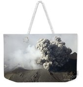 Ash Cloud Following Explosive Vulcanian Weekender Tote Bag