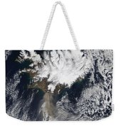 Ash Plume From Eyjafjallajokull Weekender Tote Bag