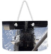 Astronaut Working On The Hubble Space Weekender Tote Bag