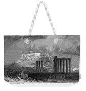Athens: Olympian Zeus Weekender Tote Bag