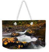 Autumn Passing Weekender Tote Bag