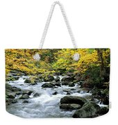 Autumn Stream 3 Weekender Tote Bag