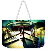 Back In The Harbor Weekender Tote Bag