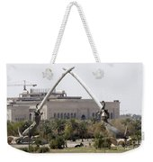 Baghdad, Iraq - Hands Of Victory Weekender Tote Bag