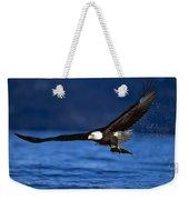 Bald Eagle Haliaeetus Leucocephalus Weekender Tote Bag
