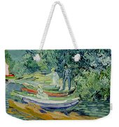Bank Of The Oise At Auvers Weekender Tote Bag