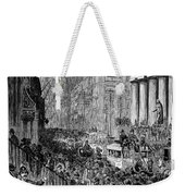 Bank Panic, 1884 Weekender Tote Bag