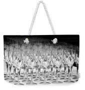 Banquet Glasses Weekender Tote Bag by Svetlana Sewell