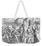 Bartolome De Las Casas Weekender Tote Bag
