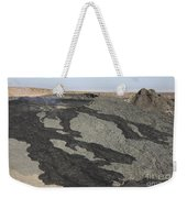 Basaltic Lava Flow From Pit Crater Weekender Tote Bag