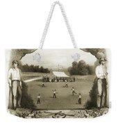 Baseball, 1861 Weekender Tote Bag