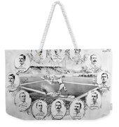 Baseball, 1895 Weekender Tote Bag