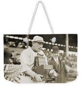 Baseball: Camera, C1911 Weekender Tote Bag