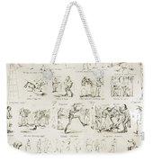 Baseball Cartoons, 1859 Weekender Tote Bag