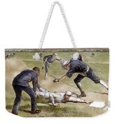 Baseball Game, 1885 Weekender Tote Bag by Granger