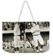 Baseball Players, 1920s Weekender Tote Bag